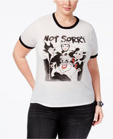 Mighty Fine Trendy Plus Size Not Sorry Graphic T-Shirt