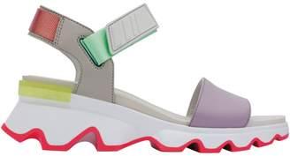 Sorel Kinetic Leather Sandals
