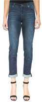 Liverpool Jeans Company Women's Peyton Slim Stretch Crop Boyfriend Jeans