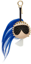 Fendi Blue Punkito Karlito Bag Charm