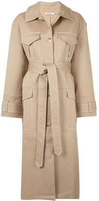 ANNA QUAN Feltcher belted trench coat