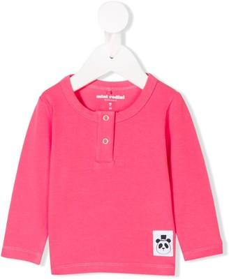 Mini Rodini Snap-Button Long Sleeve Top
