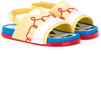 Mini Melissa Abstract Sandals