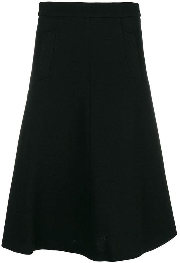 P.A.R.O.S.H. flared A-line skirt