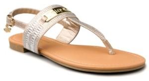 Juicy Couture Women's Jammin Thong Sandal Women's Shoes