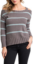 LAmade Kim Cold-Shoulder Pullover Sweater