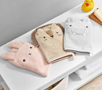 Pottery Barn Kids Nursery Critter Bath Mitts