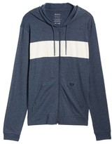 RVCA Men's Line Up Colorblocked Zip Hoodie
