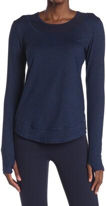 X By Gottex Long Sleeve Thumbhole Shirt