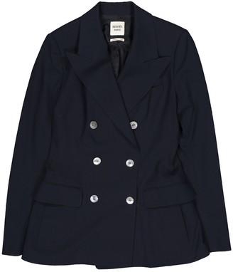 Hermes Blue Wool Jackets