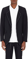 Comme des Garcons Men's Wool Twill Collarless Sportcoat