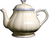 Gien Fliet Bleu Teapot - White/Blue