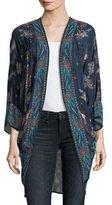 Tolani Shara Printed Kimono Jacket, Marina