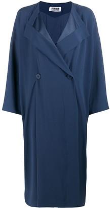 132 5. ISSEY MIYAKE Oversize Double Breasted Coat
