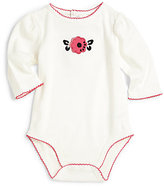 Hartstrings Infant's Embellished Flower Bodysuit