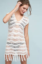 Shoshanna Maelys Crocheted Cover-Up Tunic