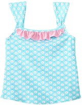 I Play Girls' Classic Ruffle Swimsuit Top (6mos3T) - 8145769