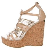 Jimmy Choo Cage Wedge Sandals