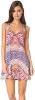 Nanette Lepore Super Fly Paisley Cover Short Dress
