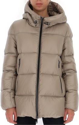 Moncler Seritte Logo Patch Padded Jacket