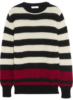 IRO Jaylen Striped Knitted Sweater - Black