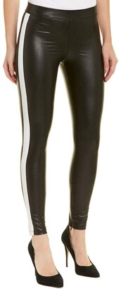 David Lerner Women's Tuxedo Ankle Zip Legging