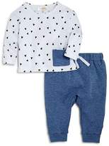 Bloomie's Boys' Triangle-Print Tee & Joggers Set, Baby - 100% Exclusive