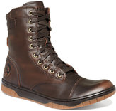 Diesel Men's Tatradium Basket Butch Zip Leather Boots Men's Shoes