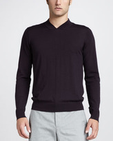 Theory High-Neck Wool Sweater