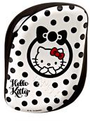 Tangle Teezer Compact Styler Instant Detangling Hairbrush Hello Kitty - Black & White
