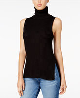 Kensie Ribbed Turtleneck Sweater