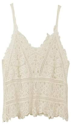 Goodnight Macaroon 'Bahira' V-Neck Lace Cami Top (2 Colors)