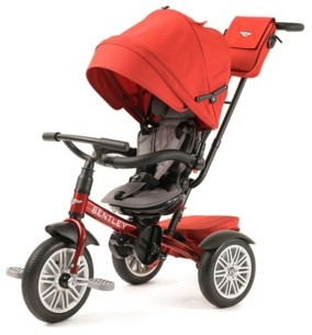 Out Peak Posh Baby and Kids Bentley Trike 6 in 1 Convertible Stroller Trike