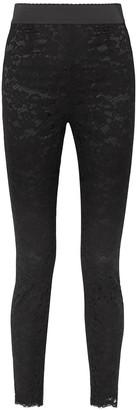 Dolce & Gabbana Guipure Lace Skinny Pants