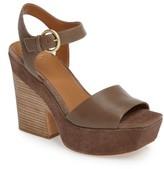 Marc Fisher Women's Perla Square Toe Platform Sandal