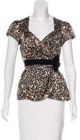 Nanette Lepore Fetching Floral Silk Top w/ Tags