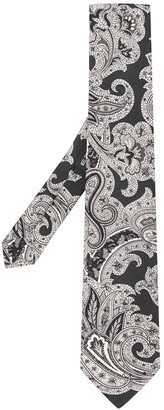 Etro Floral Print Tie