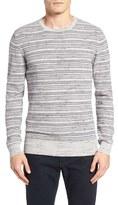 Billy Reid Men's Stripe Crewneck Sweater