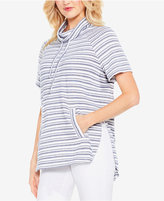 Vince Camuto Variegated Stripe Pullover Top