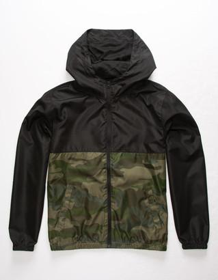 INDEPENDENT TRADING COMPANY Lightweight Camo Boys Windbreaker Jacket