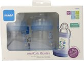 Mam Anti-Colic Bottle - 5 oz - 3 pack - Blue / Blue