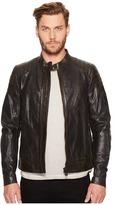 Belstaff Signature Hand Waxed Sandway Leather Jacket Men's Coat
