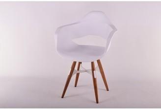 ZigZag Arm Chair Modern Chairs USA Color: Walnut