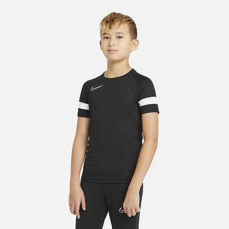 Nike Big Kids' Short-Sleeve Soccer Top Dri-FIT Academy