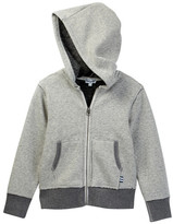 Splendid Zip Hoodie with Plush Lining (Toddler Boys)