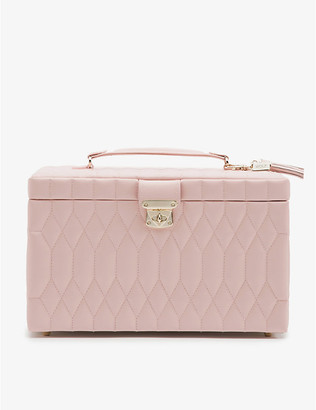 THE ALKEMISTRY WOLF Caroline large quilted-leather jewellery case