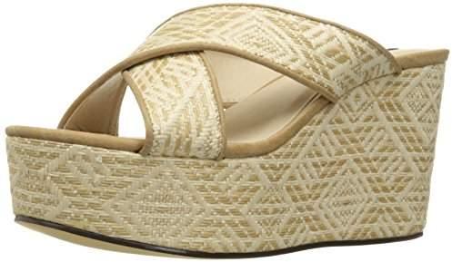 Michael Antonio Women's Gimble-WVN Platform Dress Sandal