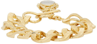 Givenchy Gold Oversized Chain Bracelet