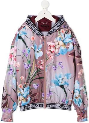 Molo Ophelia floral bomber jacket