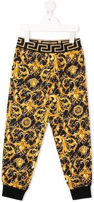 Versace Baroque-Print Track Pants